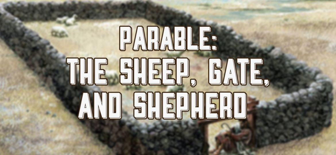 parable of sheep shepherd and gate