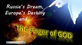 WHAT NEXT? Russia's Dream, Europe's Destiny and the Finger of God! Melbourne Prophecy Day Video post