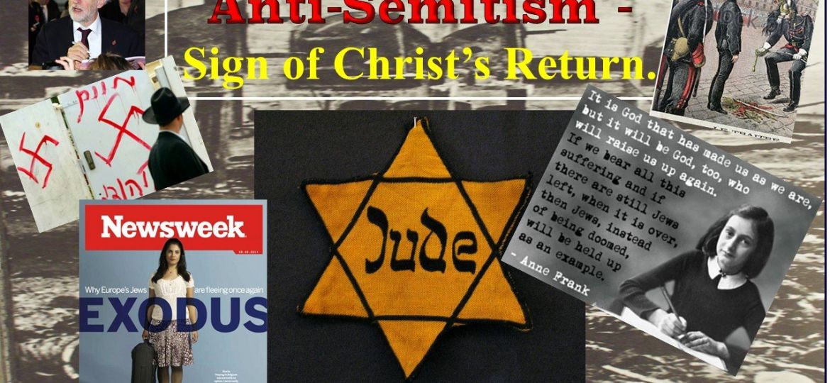 ANTISEMITISM Christ's Return lecture best