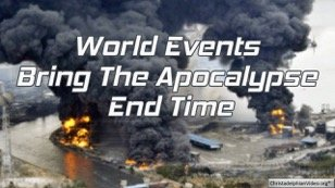 world events bring the end time