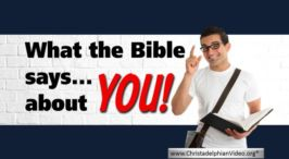 What the Bible Says About You!