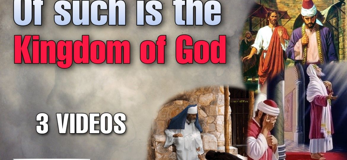 Master Of such is the Kingdom of God